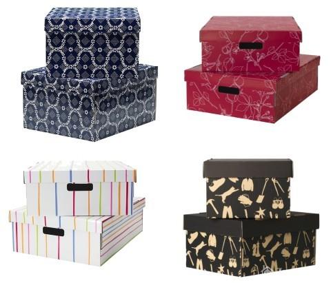 Papírové krabice ozdobné