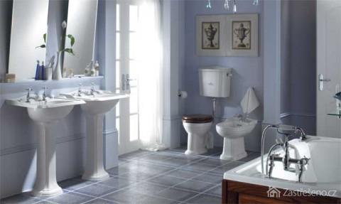 Retro obklady koupelna